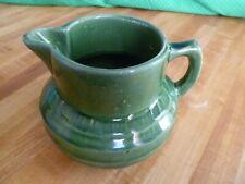 McCoy ring pitcher green 5 1/2 inch