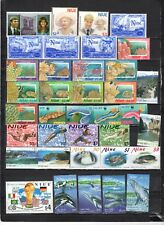Niue - Lot Of Early Unused MH/OG Stamps {NU4}