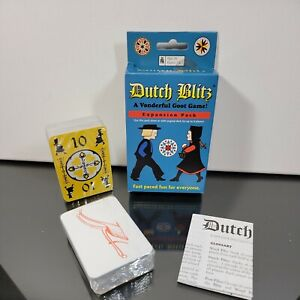 Dutch Blitz Expansion Pack Fast-Paced Fun Up to 8 Players Game Co.