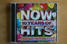 Now 10 Years of Hits - David Guetta, Flo Rider, Simple Plan   (C503)