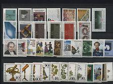 Germany Bund BRD Jahrgang yearset 1981 postfrisch MNH ** komplett complete