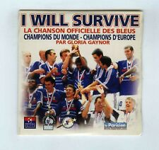 CD SINGLE(NEW)FOOTBALL GLORIA GAYNOR I WILL SURVIVE CHANSON OFFICIELLE DES BLEUS