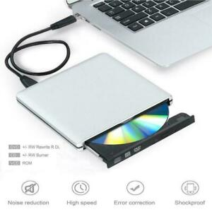 Alloy USB3.0 DVD±RW DL CD±RW Drive Writer Burner Player For Windows 7/8/10 Mac