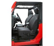 Bestop Front Seat Cover For 07-12 Wrangler 2- & 4-Door Black Denim #29280-35