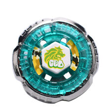 Nice Rock Leone Metal Fusion Fight Beyblade Starter Pack+Power Single Launcher