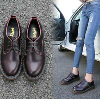 Woman Leather Flats shoes spring Oxford Flats leather Brogue Oxford shoes