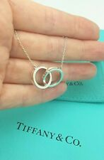 Tiffany & Co. 1837 Interlocking Circles 18 Inches Sterling Silver Necklace