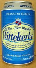 WITTEKERKE BELGIAN WHEAT BEER 33cl es CAN, BELGIUM Wit Bier Biere Blanche, gd.1+