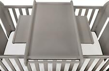 TUTTI Bambini Universal Cot Top Changer - Cool Grey Baby Nursery Furniture BN
