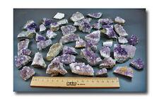1 kg AMETHYST-MINI-STUFEN+Mineralien+Edelsteine+Dekostücke, Fundort: Uruguay