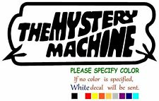 The Mystery Machine Vinyl Decal Sticker Car Window Bumper Wall Laptop 7