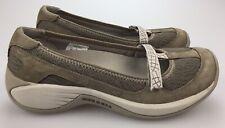 Merrell Encore Ballet Brindle Gray Mary Jane Slip On Flats Shoes Women's 7.5 38