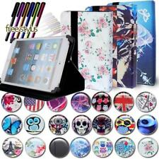 """FOLIO LEATHER STAND CASE COVER For Various 10"""" Acer Iconia Tab Tablet + Stylus"""