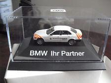 RARE Herpa HO 1/87 BMW 325i Ihr Partner Car NIP