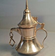 # SUPERBE argent miniature Arabe Café Pot 925 Silver alishma Turc Argent