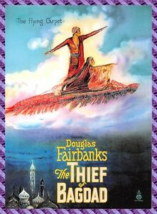 Carte collection Affiche de Film THE THIEF OF BAGDAD - N°4