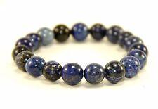 Lapis Lazuli Bracelet Natural Crystals Beads Semi Precious Stones Gemstone Bead