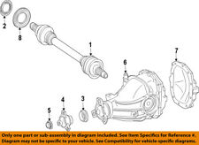 MERCEDES OEM 15-17 C63 AMG S Rear Suspension-Axle Assembly 2053509508