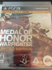 PS3 Medal of Honor Warfighter Limited Edition Brand New Sealed