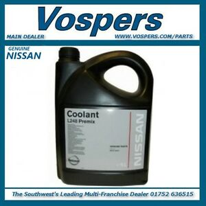Genuine Nissan L248 Premix Engine Coolant / Antifreeze 5 Litres KE90299945