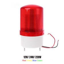 DC 12V/ 24V/ 220V Flash Siren Emergency Rotary Alarm Warning Light 4 Colors AU
