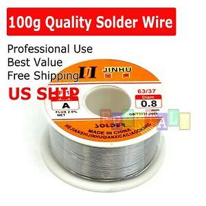 DIY Solder Core Tin Lead Wire 40//60mm Diameter 1mm 30gr with Rosin Flux 10gr Set