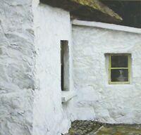 VTG Art Robert Bateman Garden Wall Chaffinch Nasturtiums Irish Cottage Wagtail