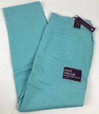 390cd9f4fe3 NEW Women s Gloria Vanderbilt AMANDA Aqua Sky Slimming Jeans Heritage Fit