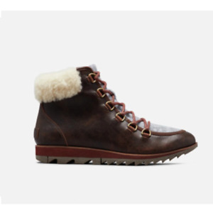 Sorel HARLOW™ Lace Cozy Burgundy Boots