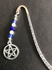 PENTAGRAM STAR SYMBOL WICCA PAGAN BOOKMARK TIBETAN SILVER  GIFT BAG