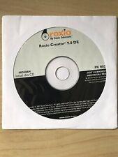 Roxio Creator DE 9.0 Dell Backup Disc 0H026G