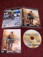 Call of Duty: Modern Warfare 2 Sony PlayStation 3 CIB COMPLETE & TESTED! VGC!