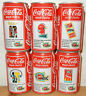 1993 COCA COLA 6 cans FR MUSIC COLLECTION set from HOLLAND (33cl)