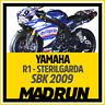 Kit Adesivi Yamaha R1 SBK 2009 Team Sterilgarda - High Quality Decals