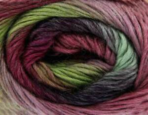 King Cole Riot DK Colour Changing Wool Blend Sock Yarn 100g - 409 Funky