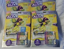 Crayola Color Alive - Enchanted Forest - Lot of 4