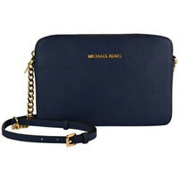 MICHAEL KORS Womens[Jet Set Travel Lg Ew Cross body] Shoulder Bag Genuine Navy