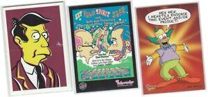 Simpsons Mania - Single Chase Card Selection - SimpsaDelic, Fold'em, BL1