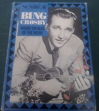 Bing Crosby Double Cassette Where the Blue of the Night Nostalgia Series