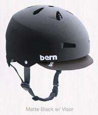 BERN MACON SPORT HELMET MATTE BLACK WITH AUDIO MODEL M2EH8VS SMALL