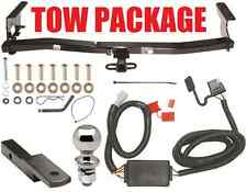 TRAILER HITCH PACKAGE ~ HITCH + BALLMOUNT + WIRING FOR 1998-2008 SUBARU FORESTER