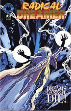 Radical Dreamer #0-3, 4 issue run, Blackball Comics, Mark Wheatley