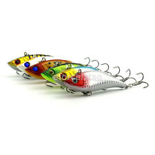 1pc VIB Fishing Lure 8cm/11.8g Hard Lure Crankbaits Baits Bass #6 Hook Tackle CA