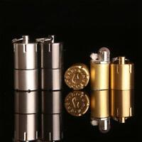 Tragbare Mini Feuerzeug Aluminiumlegierung Tragbare Kerosin Öl Zigarette