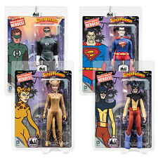 Super Friends Retro Mego Style Action Figures Series 4: Set of all 4 by FTC
