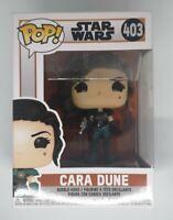 Funko Star Wars The Mandalorian Cara Dune #403 Discontinued MINT Pop!
