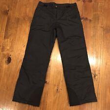 Columbia Youth Unisex 18/20 Black Snowboard Ski Pants Waterproof
