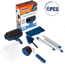 Paint Roller Brush Tools Set Wall Printing Brush kit with Paint Runner Pro Wall