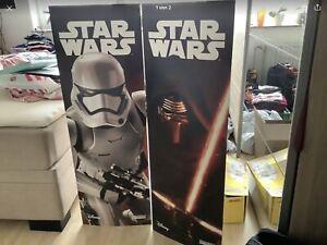2 Pappaufsteller Star Wars Neu