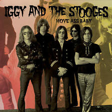 Iggy And The Stooges - Move Ass Baby 3-SIDED 2-LP SEALED NEW IMPORT Iggy Pop